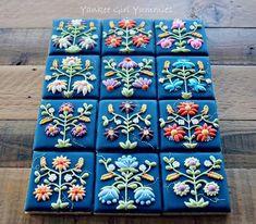 flower quilt - yankee girl yummies - 1