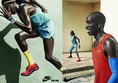Chris Boals Artists - julia noni - nike : Lookbooks - the Technology behind the Talent.