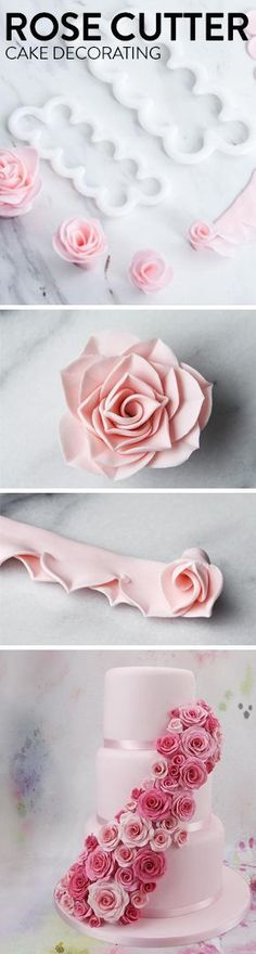 Make beautiful roses with ease! The FMM Sugar Flower Cutter comes in two different sizes: one regular and one small! Create your easiest and quickest sugar roses yet, and use these versatile tools to bring continuous ruffles and other effects to life as well.