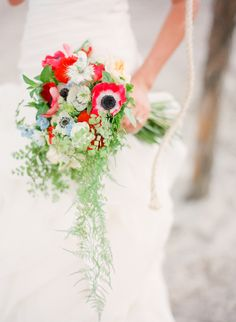 In love with this bouquet. And Michelle March is amazing.