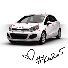 Happy Valentine's Day from Kia with kisses.