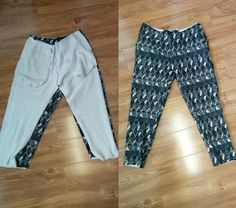Sewing by Mrs L: Tapered Tracksuit Pants - FREE PDF PATTERN Sewing Blogs, Easy Sewing Projects, Sewing Patterns Free, Pants Pattern Free, Free Pattern, Sewing Pants, Sewing Clothes, Tracksuit Pants, Sweatpants