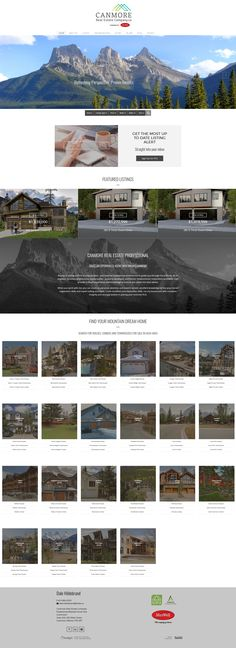 We just launched this new website for Canmore Realtor Dale Hildebrand. Features links to all types of real estate in all Canmore sub-areas. Website Designs, Search Engine, Custom Design, Product Launch, Real Estate, Real Estates, Site Design, Website Layout, Web Design