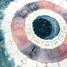 It's been a while since I just freely painted on a piece of watercolor paper! I was inspired to create an astrology wheel as I was reading… Bullet Journal Art, Bullet Journal Inspiration, Art Inspo, Watercolor Paper, Watercolor Paintings, Watercolor Texture, Easy Paintings, Book Of Shadows, Oeuvre D'art