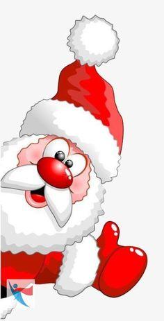 holiday cartoon santa clipart,christmas,s - holiday Christmas Drawing, Christmas Paintings, Christmas Art, Christmas Decorations, Christmas Ornaments, Watercolor Christmas, Father Christmas, Funny Christmas, Christmas Projects