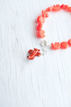 Kid Bracelet- so cute to put a charm of their favorite thing on the end!