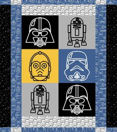 Star Wars™ Character Quilt Kit