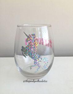 Sympas le verre licorne ! #licorne #unicorne