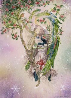 ''The Holly Tree'' by Marja Lee