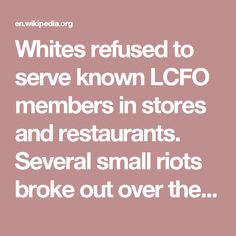 Whites refused to serve known LCFO members in stores and restaurants. Several small riots broke out over the issue. The LCFO pushed forward and continued to organize and register voters.[10] However, none of their candidates won in the November 1966 general election. In a December 1966 edition of The Liberator, a Black Power magazine, activist Dr. Gwendolyn Patton alleged the election had been subverted by widespread ballot fraud.[13] But historians believe that black sharecroppers submitted…