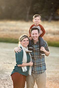 Family photos by the pond - Redding CA Newborn Photographer - Dani D Photography