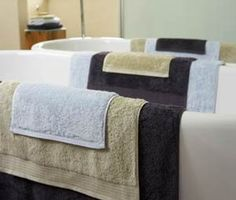 Christy Embrace Towels...best bathroom towels with silk