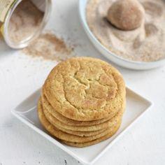 chai snickerdoodles cookies.