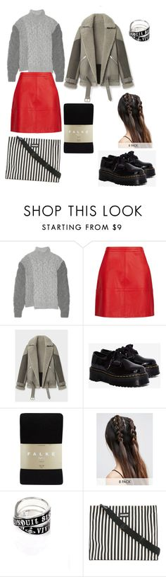 """""""14/01"""" by petrovaekaterina ❤ liked on Polyvore featuring STELLA McCARTNEY, AllSaints, Dr. Martens, Falke, ASOS, Vivienne Westwood and Marni"""