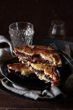 Schoko-French Toast   Zeit: 15 Min.   http://eatsmarter.de/rezepte/schoko-french-toast