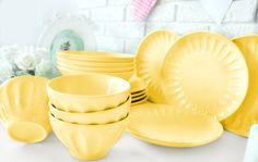 www.keramika.com.tr  www.keramikashop.com #mutfaklarinizirenklendiriyoruz #sari #yellow