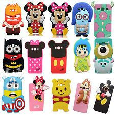 Cartoon Minnie Mouse Soft Silicone Back Case Cover For Samsung Galaxy ON 5 Fluffy Phone Cases, Cute Phone Cases, 5s Cases, Samsung Cases, Samsung Galaxy, Iphone 5s Covers, Iphone Cases, 3d Cartoon, Mobiles