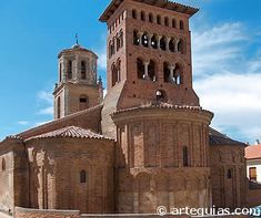 arquitectura mudejar San Jacinto, Church Building, Kirchen, Medieval, Spain, Architecture, Travel, Iglesias, Antique