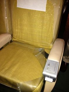 Remember when smoking was allowed on planes? At Airline History Museum in Kansas City. On 1958 plane. #KC