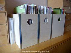 Stempeleinmaleins: Das Stempelzimmer #4 - Papieraufbewahrung