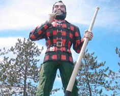 The Paul Bunyan Statue and Birthplace is a monument built as a tribute to the mythical lumberman, Paul Bunyan. It was considered as the largest Paul Bunyan stature in the …