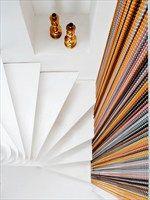 Room divider aluminium curtain STRIPES - KriskaDecor