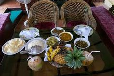 Authentic Kerala sea food served in the houseboat