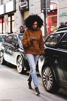 Julia Sarr-Jamois 2015 | Milan_Fashion_Week-Fall_Winter_2015-Street_Style-MFW-Julia_Sarr_Jamois ...
