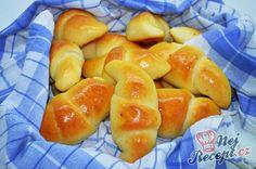 Rohlíčky plněné šunkou a sýrem od Lacusin