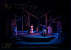 The Crucible. University of Windsor. Directed by Gordon McCall. Set Design by David Court.