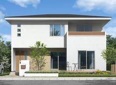 AVANCERナチュラルモダンスタイル Dream Home Design, My Dream Home, 2 Storey House Design, Japan Architecture, Japanese House, New Home Designs, Future House, New Homes, Backyard