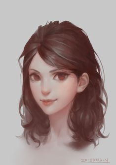 Beautiful digital portrait illustration by China based concept artist and illustrator Y 欢木.