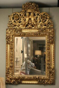 Mirror-antique furniture