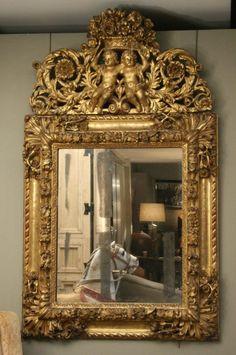 Mirror-antique furniture
