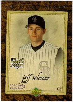 2007 Upper Deck Artifacts 84 Jeff Salazar (RC) - Colorado Rockies (RC - Rookie Card) (Baseball Cards) * More info could be found at the image url.