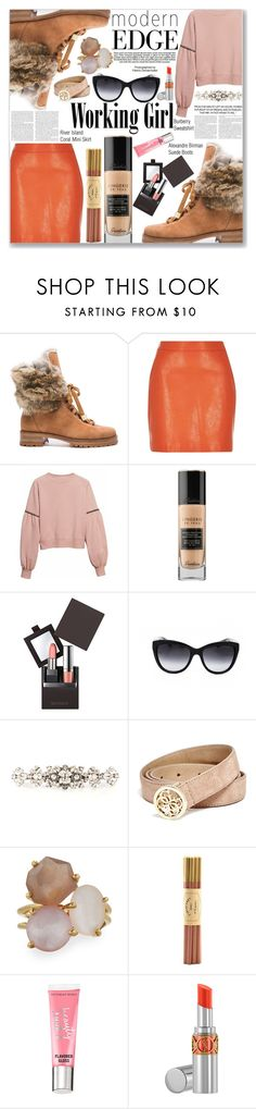 """Smartbuyglasses Contest"" by rivlyb ❤ liked on Polyvore featuring Alexandre Birman, River Island, Burberry, Guerlain, Laura Mercier, Industrie, Dolce&Gabbana, GUESS, Ippolita and Fine & Candy"