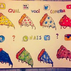 Which you want to eat first!!?? Follow us! @dailyart  Artwork by @princessdrawss Tag your friends!#dailyart