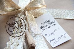 Printable Christmas Gift Tags (would be ok in black and white)