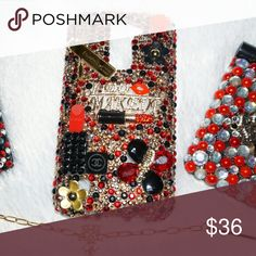 Sale Custom girly phone case for LGK7/Titan Handdecorated cell phone case for the lgk7 or titan . Great girly gift. Serious inquiries. Accessories Phone Cases