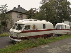 Cool vintage motorhome!  Possible European?