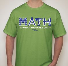 Celebrate Math Storytelling Day! This year's motto: MATH IS WHAT YOU MAKE OF IT. Send your photos and stories for the online gallery.