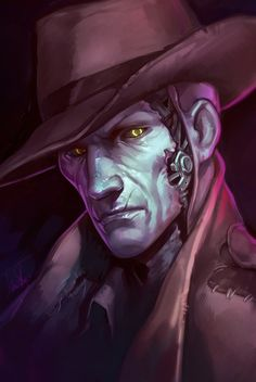 Nick being sassy as fuck - Fallout 4 Character Inspiration, Character Art, Character Design, Fallout 4 Nick Valentine, Fallout Tattoo, Detective, Fallout Fan Art, Video Game Art, Video Games