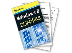 Have you tried Windows 8?  If you found it as weird as I did, you may want to read up on it. Dell is giving away a free copy of Windows 8 For Dummies...