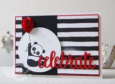 Bonjour à toutes , j'espère que vous allez bien Avez-vous vu ce charmant set de tampons » Pandas Festifs » dans notre brochure Sale-a-bration ? Oui j'e…