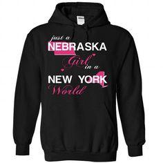 I Love V1-NEBRASKA-NEWYORK GIRL T-Shirts