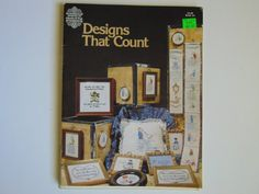 Gloria & Pat Designs That Count Book 6 by TrinasCraftPatterns