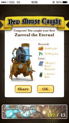 Zurreal the Eternal. Happy Squirrel, Lost City, Garden Theme, King, Dark