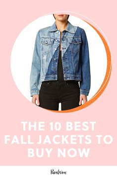 Outfit-making jackets are at the top of our fall wish list. Here are ten we?re eyeing for the upcoming season. Long Blazer, Plaid Blazer, Faux Leather Pants, Leather Jacket, Patagonia Fleece, Printed Denim, Fall Jackets, Sweater Coats