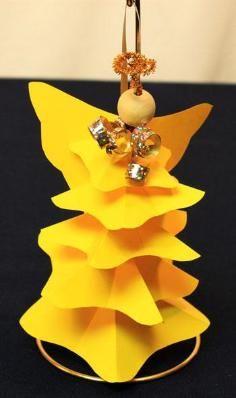 DIY Tutorial DIY STAR / DIY Tree Ornament - Paper Star - Bead&Cord