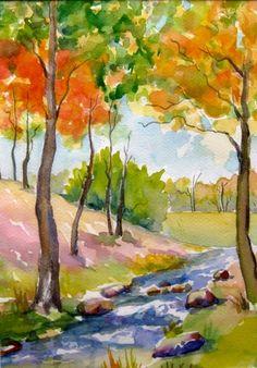 """Autumn Landscape"" -- Meltem Kilic"